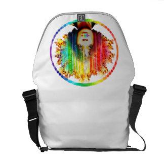 Rain'Fro' Pride- Lesbian Gay Pride Messenger Bag