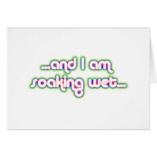 Rainglow mojado de impregnación 2 tarjeta