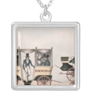 Rainhill trials,'Novelty',the unsuccessful Silver Plated Necklace