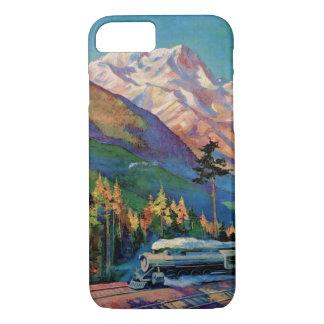 Rainier National Park Vintage Poster Restored iPhone 7 Case