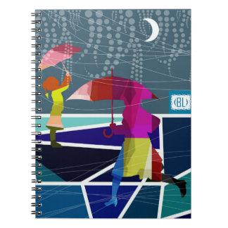 Raining again- notebook