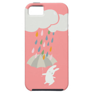 Raining bunny iPhone SE/5/5s case