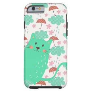 Raining Cats Tough iPhone 6 Case