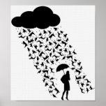 Raining Cats & Dogs Print