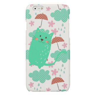Raining Cats Glossy iPhone 6 Case