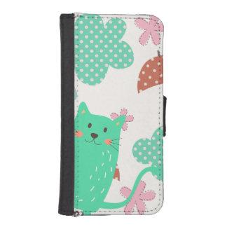 Raining Cats iPhone 5 Wallet Case