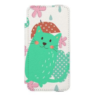 Raining Cats Incipio Watson™ iPhone 5 Wallet Case
