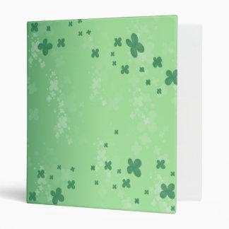 Raining Clover Vinyl Binders