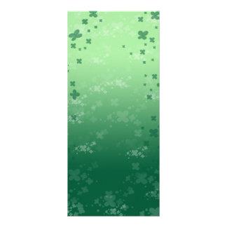 Raining Clover Rack Card