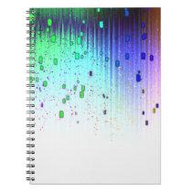 Raining Colors Notebook