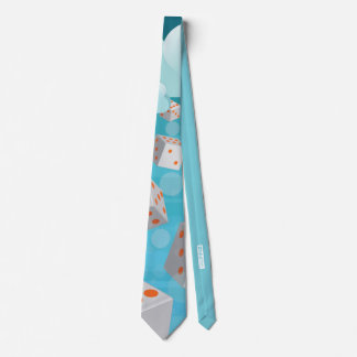 Raining Dice Neck Tie