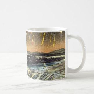 Raining Fire over Water Falls Coffee Mug
