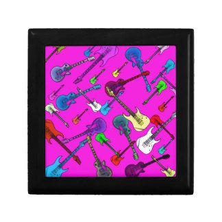 Raining Guitars Keepsake Box