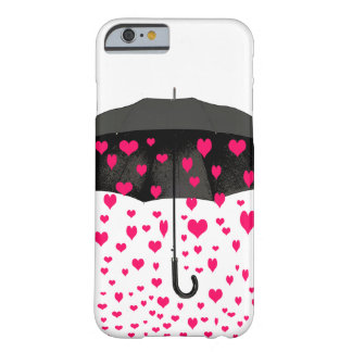 Raining hearts iPhone 6 case covers
