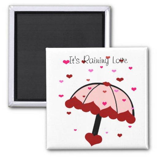 Raining Hearts, It's Raining Love magnet