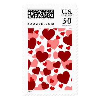 RAINING HEARTS ~.png Postage
