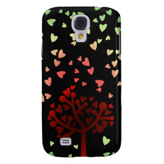 Raining Hearts Samsung Galaxy S4 Covers