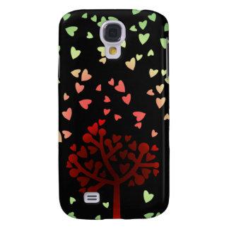 Raining Hearts Samsung S4 Case