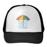 raining mesh hat