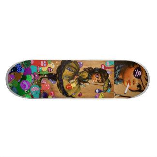 Raining Monsters Skateboard