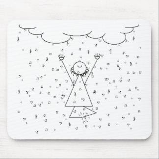 Raining Music Elation Mouse Pad