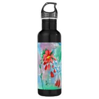 Raining Petals aceo 24oz Water Bottle