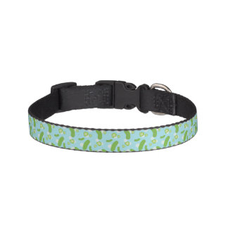 Raining Pickles Dog Collar