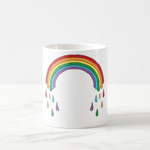Raining Rainbow Mug