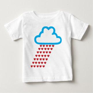 Raining Red Hearts Baby T-Shirt