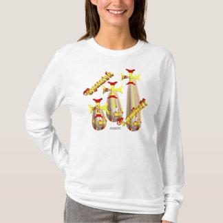 Raining Spanish Football Ladies Long Sleeve Shirt