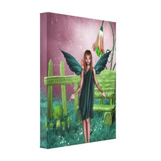 Raining Sparkles Canvas Print