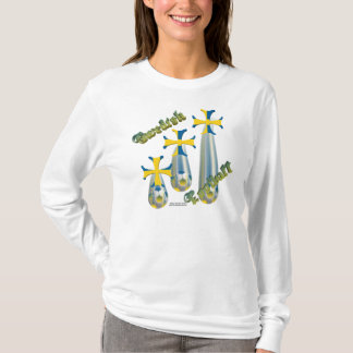 Raining Swedish Football Ladies Long Sleeve Shirt