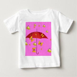 Raining Yellow Roses & Butterflies Gifts Baby T-Shirt