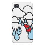 raininghearts iPhone 4 cases