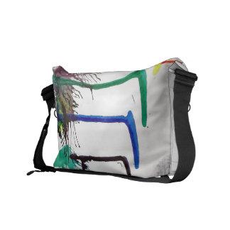 Rainkbow bag courier bag