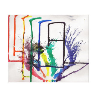 Rainkbow Canvas
