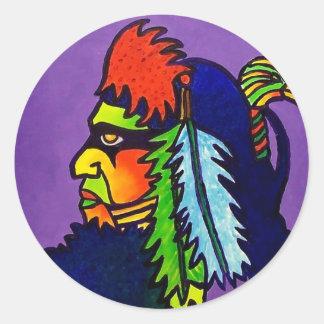 Rainman by Piliero Classic Round Sticker