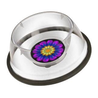 Rain's pretty flower 1 pet bowl