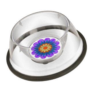 Rain's pretty flower pet bowl