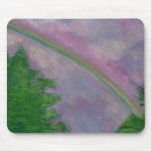 rainsbows and light mouse pad