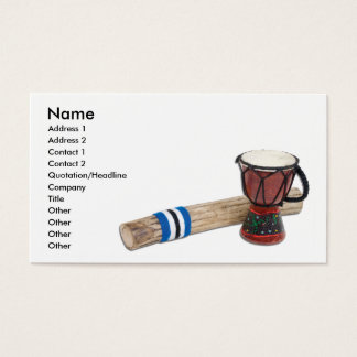 RainstickDrum, Name, Address 1, Address 2, Cont... Business Card