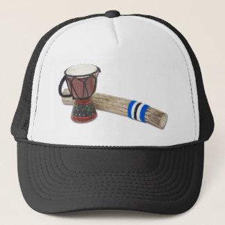 RainstickDrum Trucker Hat