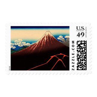Rainstorm Beneath the Summit Stamp