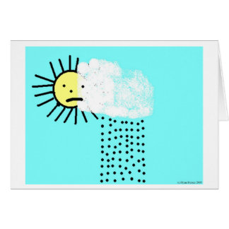 Rainstorm Greeting Card
