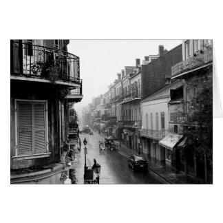 Rainswept Royal Street Card