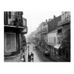 Rainswept Royal Street New Orleans Postcard