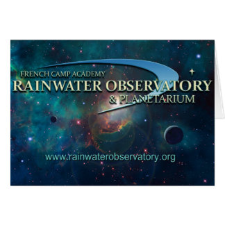 Rainwater Observatory and Planetarium Card
