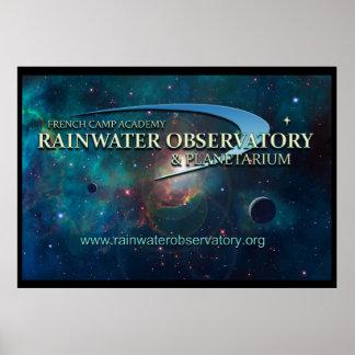 Rainwater Observatory and Planetarium Poster