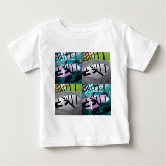 Rainwater Puddle Composite Design Baby T-Shirt