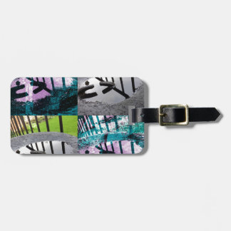 Rainwater Puddle Composite Design Luggage Tag